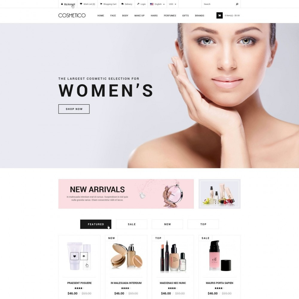 theme - Health & Beauty - Cosmetic Boutique - 2