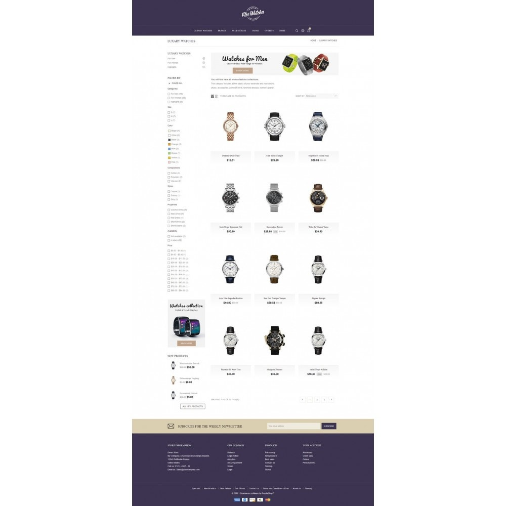 theme - Jewelry & Accessories - Flex Watches Store - 3