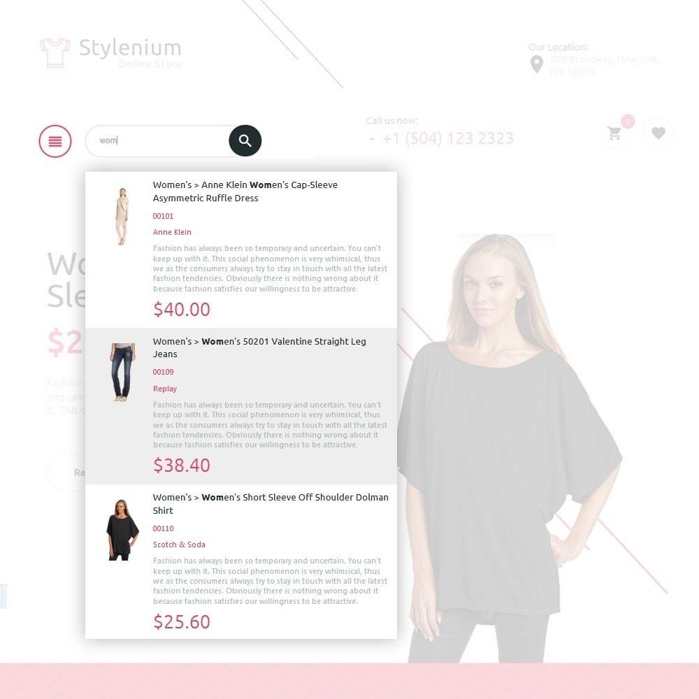theme - Мода и обувь - Stylenium - Адаптивный PrestaShop шаблон модной одежды - 5