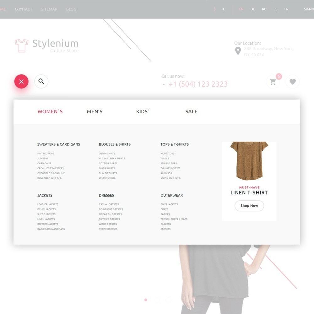 theme - Moda & Calzature - Stylenium - Negozio di abbigliamento PrestaShop - 3