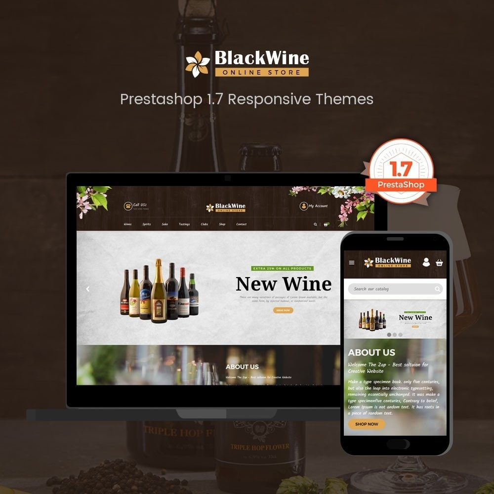 theme - Drink & Tobacco - Wine Stores - 1