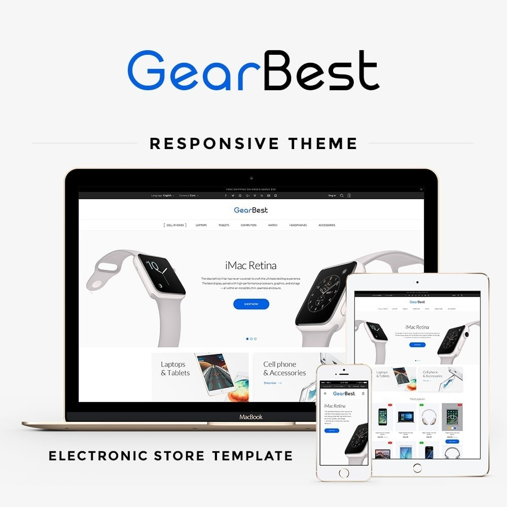 theme - Electronics & Computers - GearBest - High-tech Shop - 1