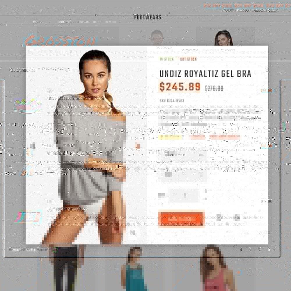 theme - Sport, Loisirs & Voyage - Crosston - Magasin de vêtements de fitness PrestaShop - 6