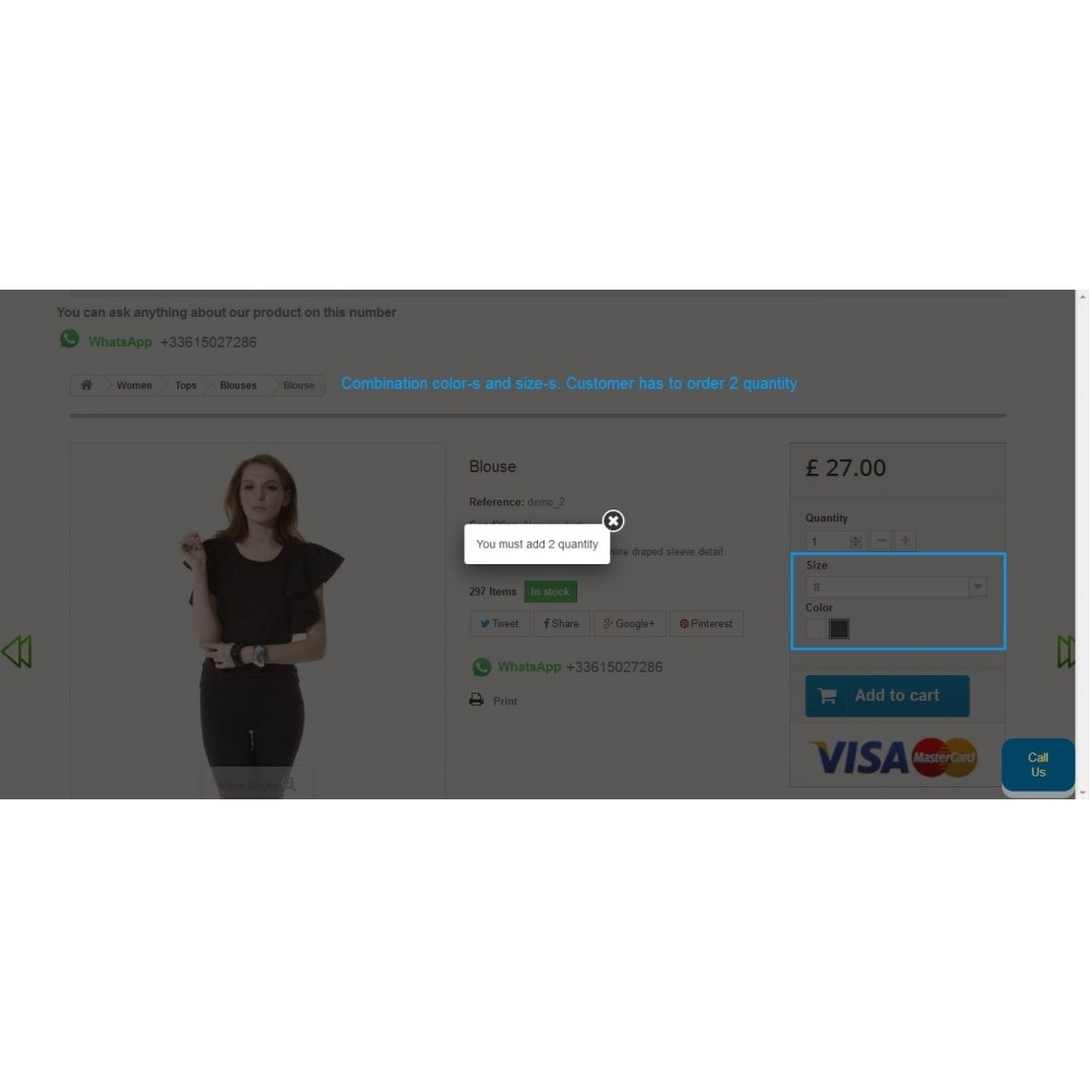 module - Inscription & Processus de commande - Restrict Cart Quantity - 5