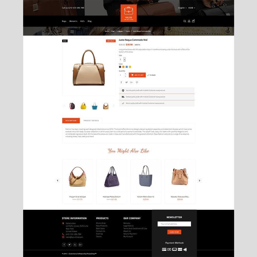 theme - Bijoux & Accessoires - Valise Store - 5