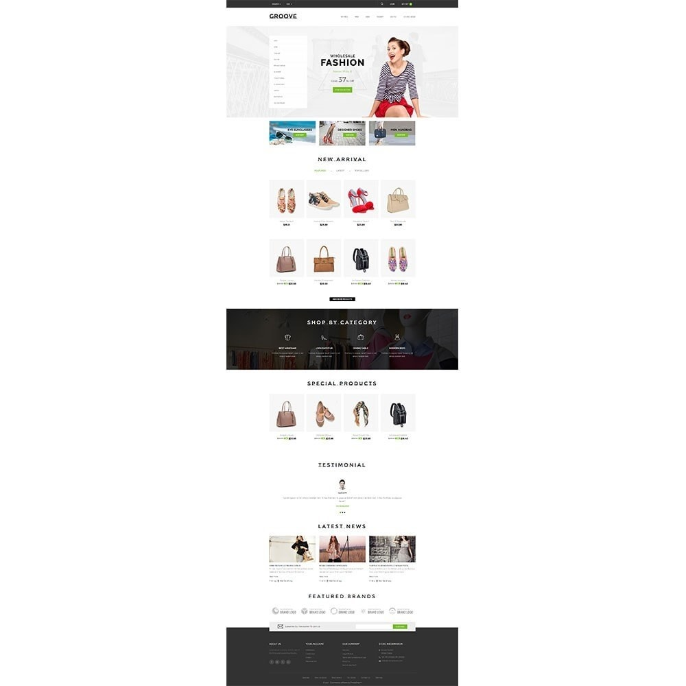 theme - Mode & Chaussures - GrooveFashion Store - 2