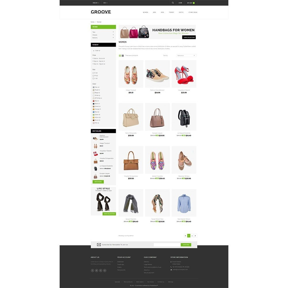 theme - Mode & Chaussures - GrooveFashion Store - 3