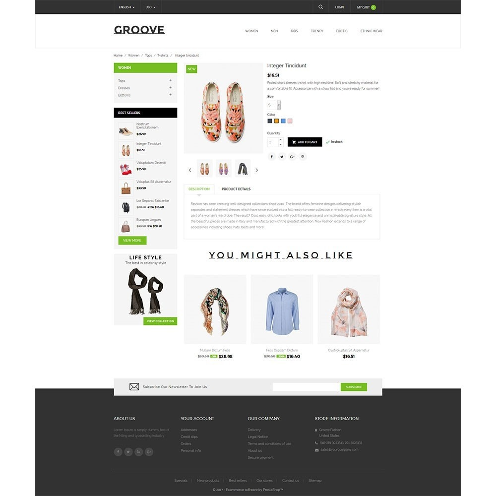 theme - Mode & Chaussures - GrooveFashion Store - 5