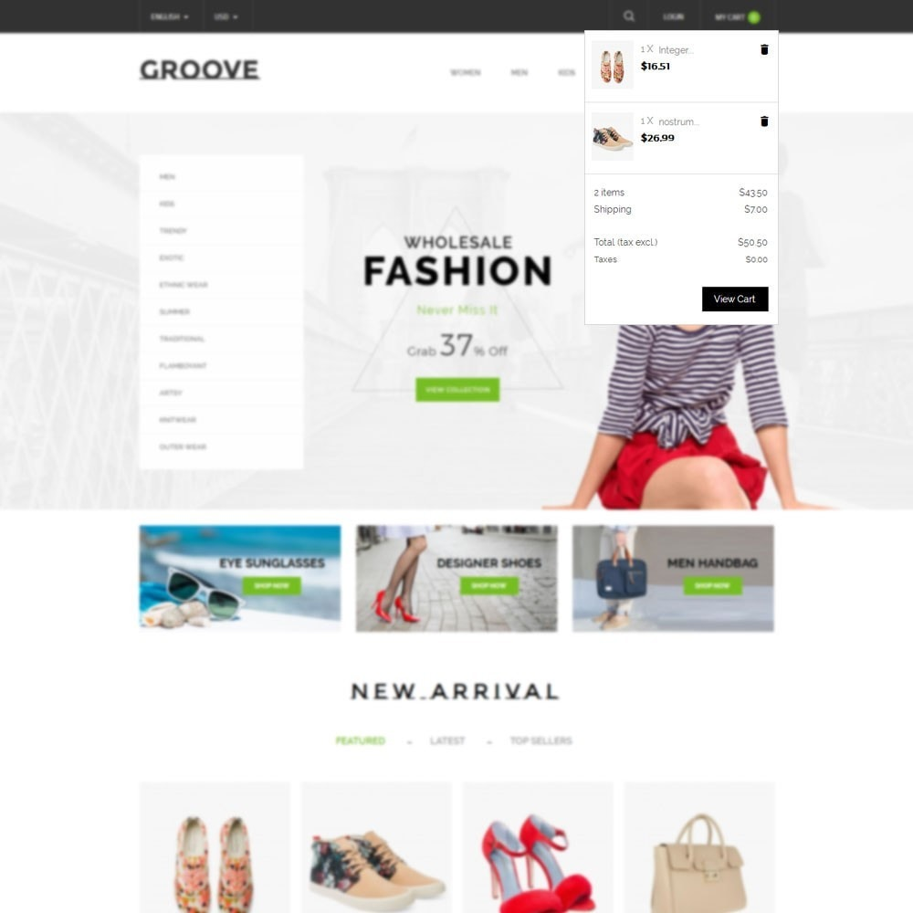 theme - Mode & Chaussures - GrooveFashion Store - 7