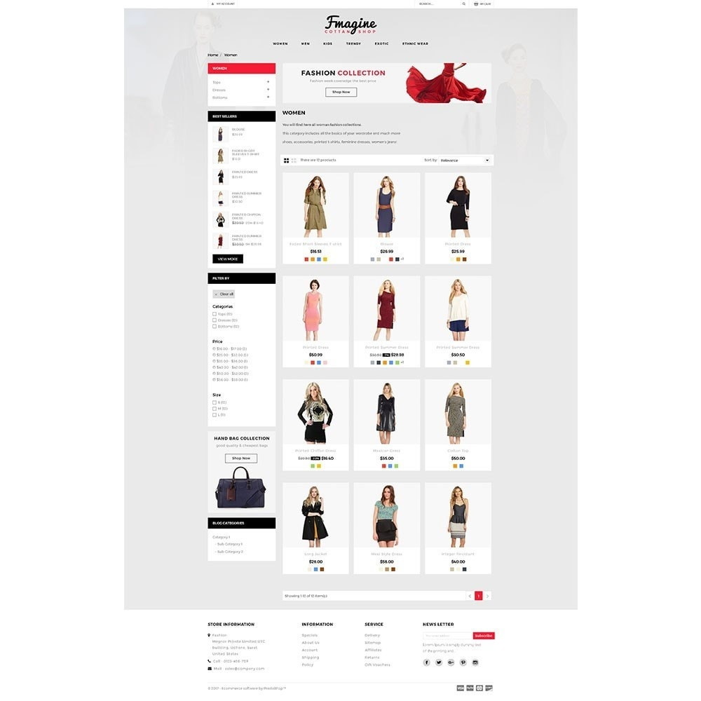 theme - Fashion & Shoes - Fmagine Store - 3