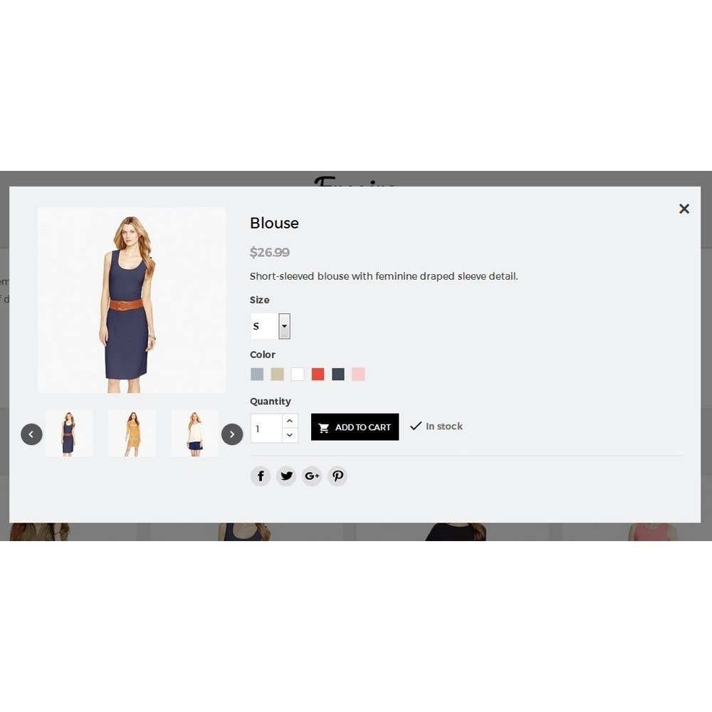 theme - Fashion & Shoes - Fmagine Store - 7