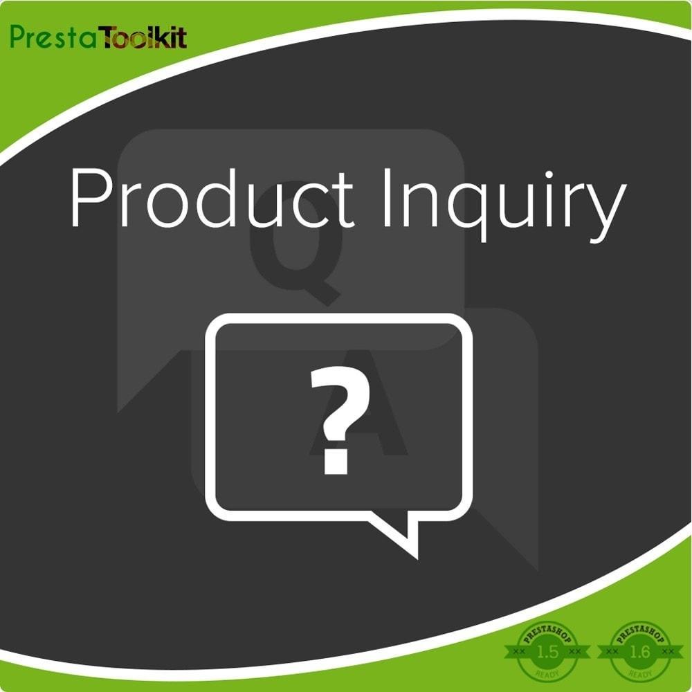 module - Formulario de contacto y Sondeos - Peticiones sobre producto - 1