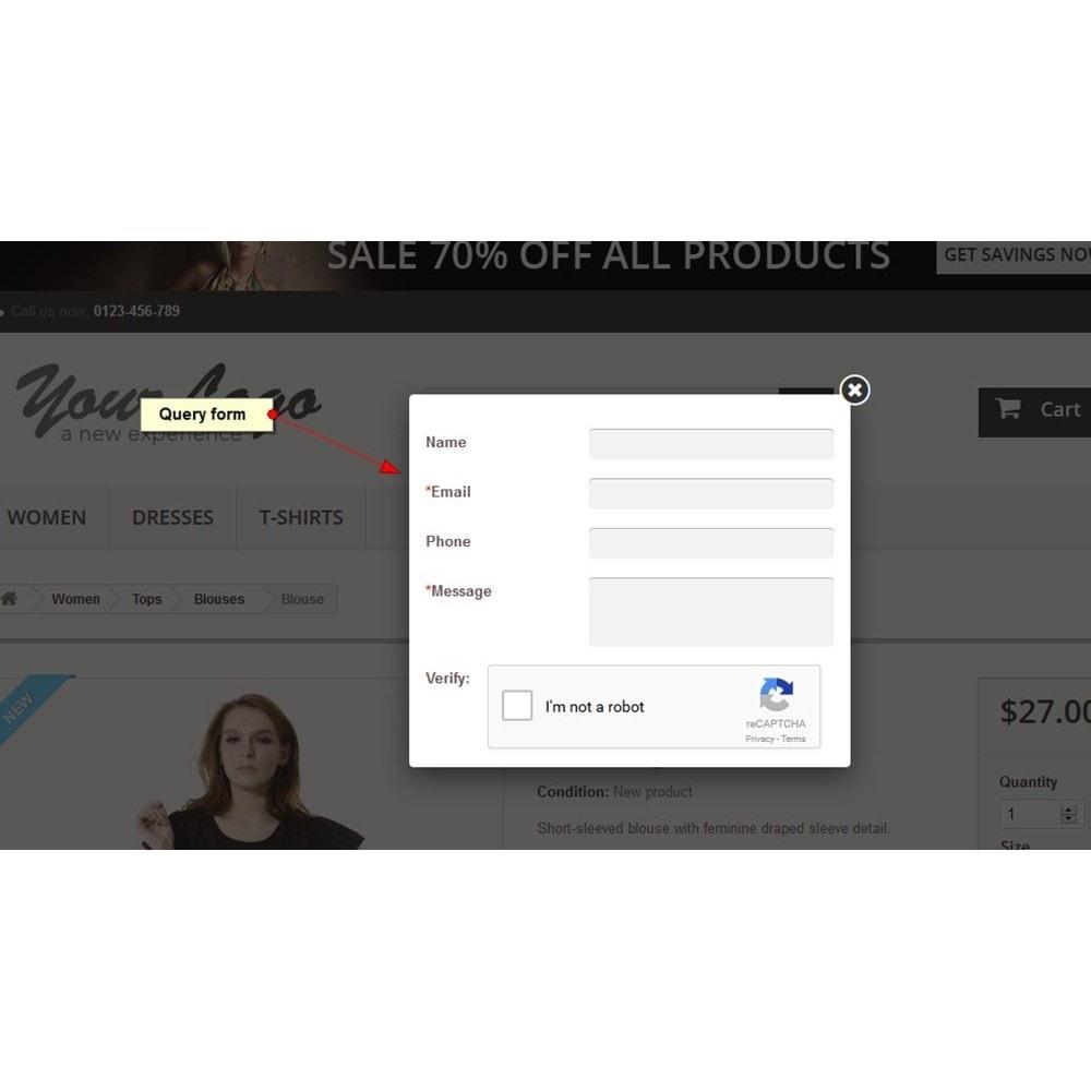 module - Formulario de contacto y Sondeos - Peticiones sobre producto - 3