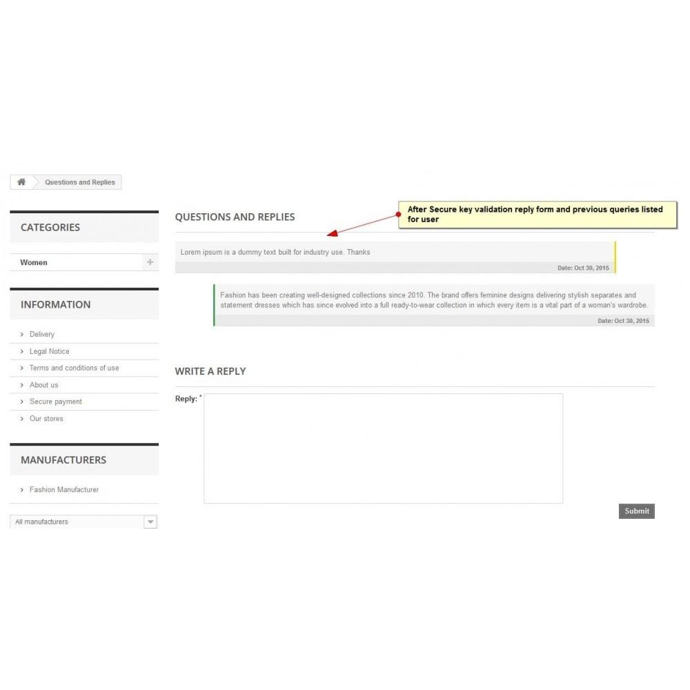 module - Form di contatto & Questionari - Richiesta di prodotto - 10