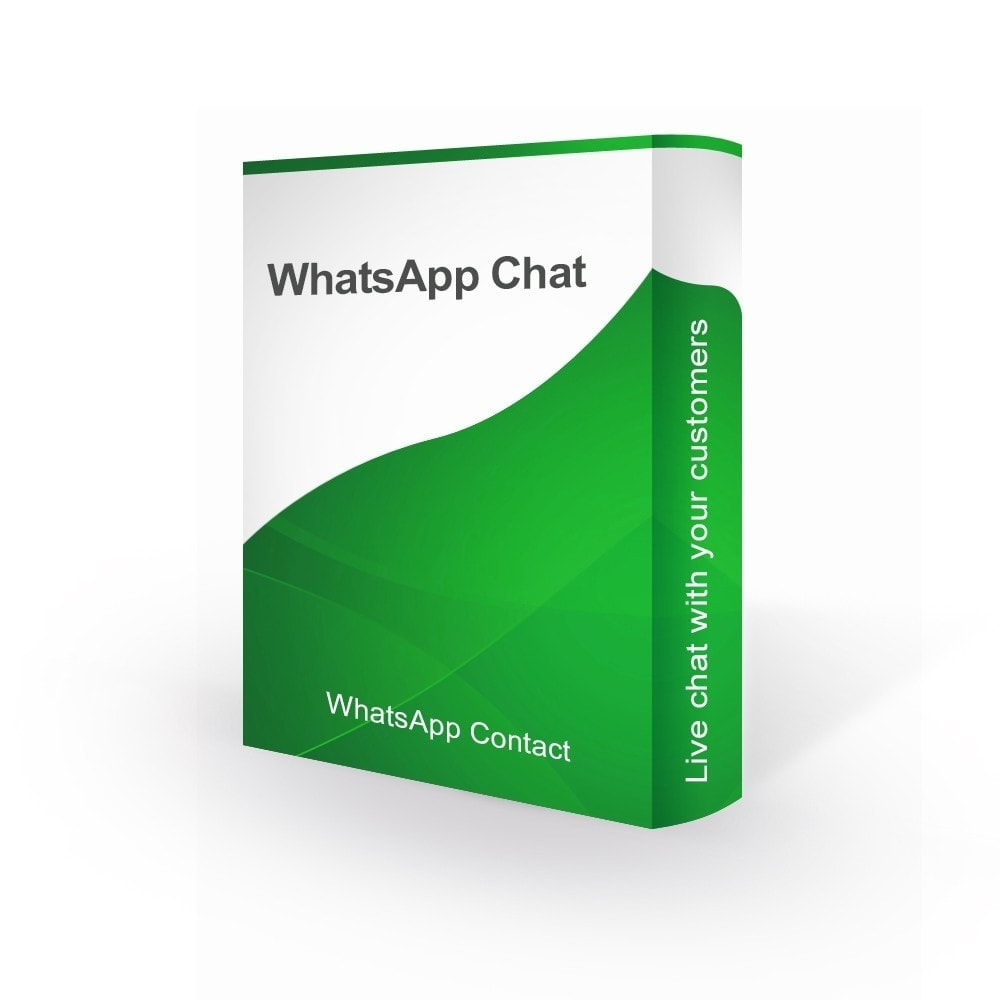 module - Suporte & Chat on-line - WhatsApp Online Live Chat With Customers - 1