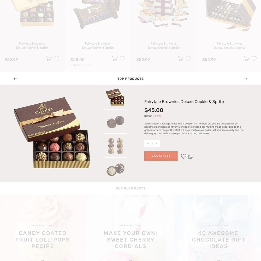 theme - Food & Restaurant - Sweet4you - Sweet Shop - 6