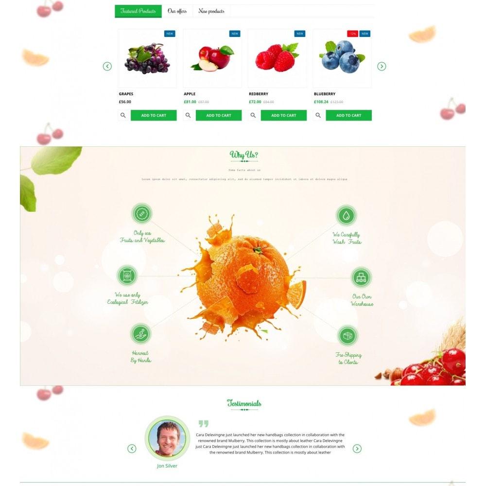 theme - Alimentation & Restauration - Green Garden - 3