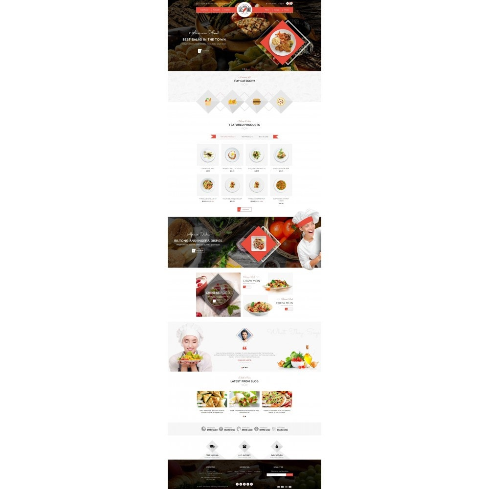 theme - Lebensmittel & Restaurants - Takeaway - Online Restaurant - 2