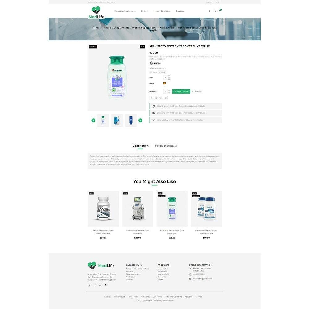 theme - Zdrowie & Uroda - MedLife Medical Store - 5