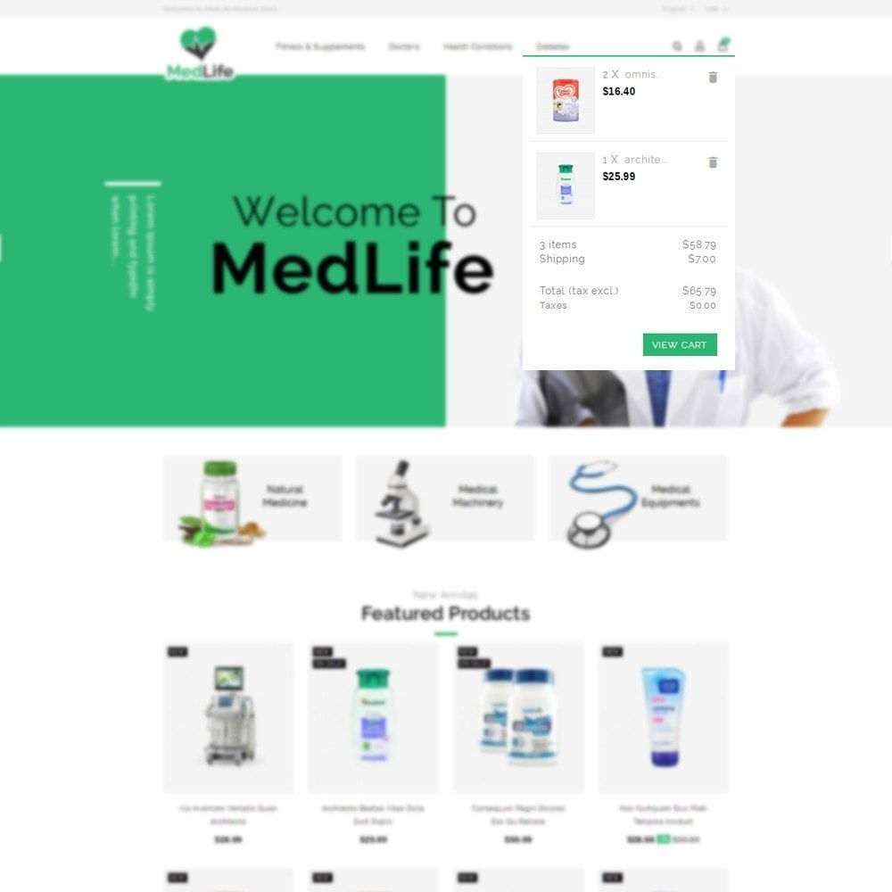 theme - Salute & Bellezza - MedLife Medical Store - 6