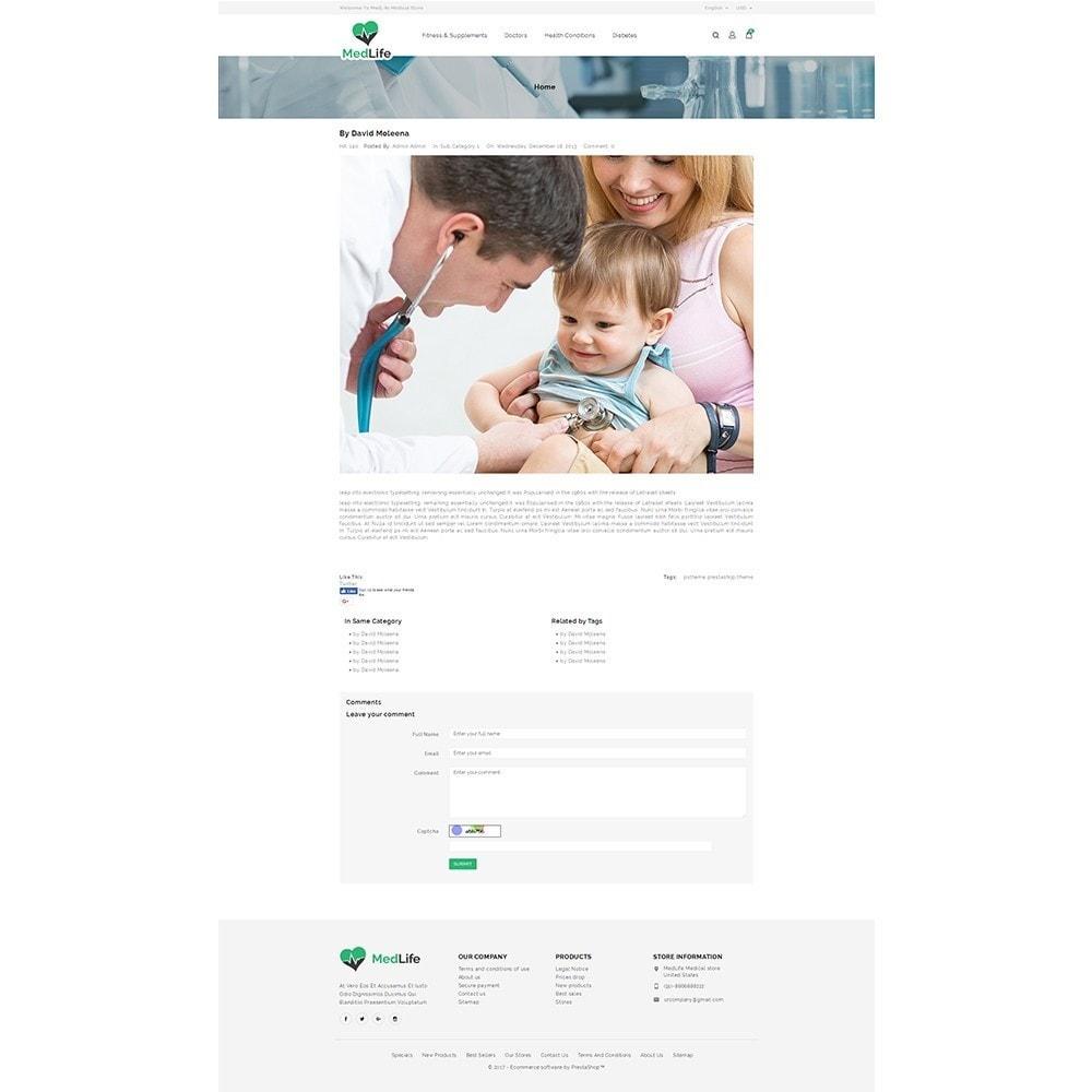 theme - Zdrowie & Uroda - MedLife Medical Store - 8