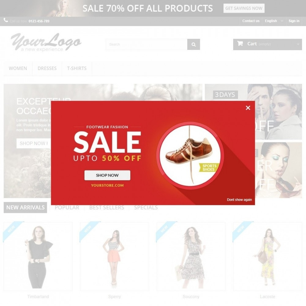 bundle - Slidery & Galerie - Marketing Pack: 3 modules to boost your sales - 2