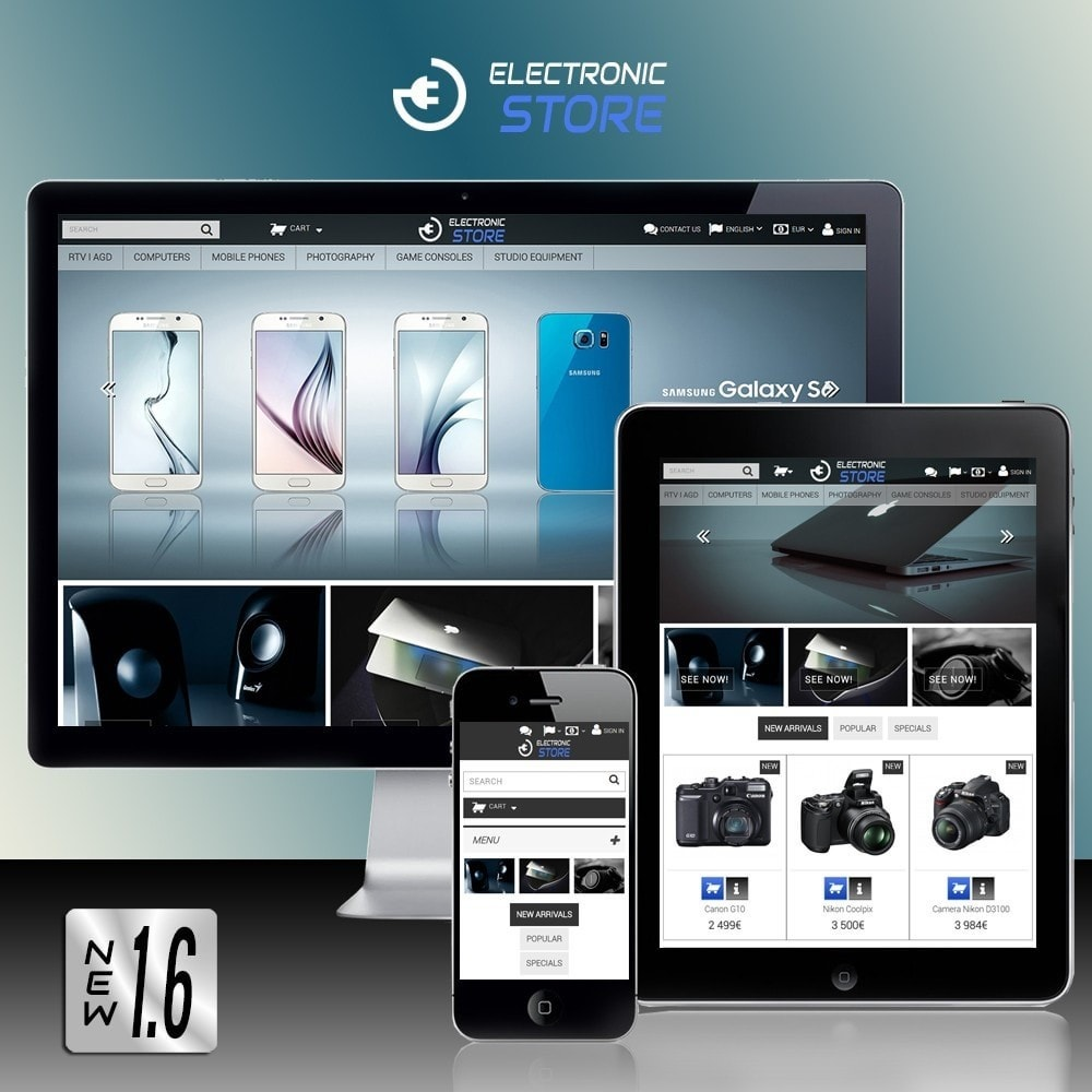theme - Electronics & Computers - Electronic Store - 1