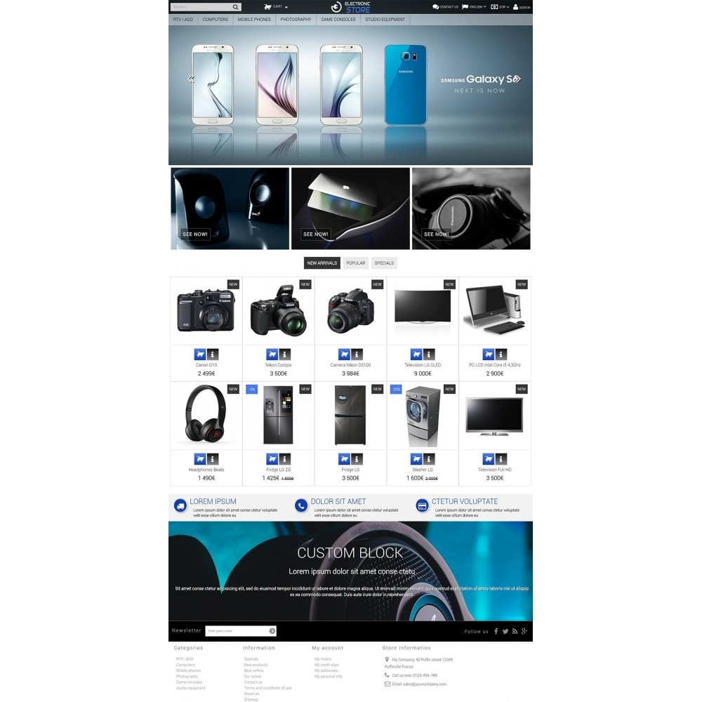 theme - Electronique & High Tech - Electronic Store - 2