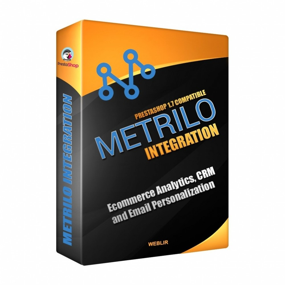 module - Notifications & Automatic Emails - Metrilo Integration - 1