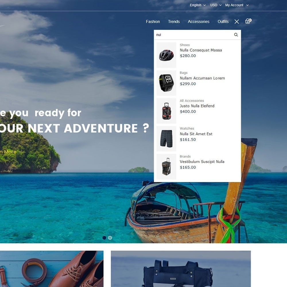 theme - Sports, Activities & Travel - Travel Store - 6