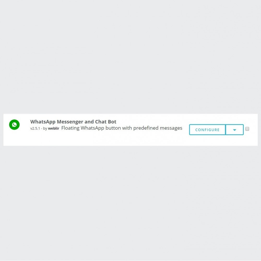 module - Support & Online Chat - WhatsApp Chat - Advanced widgets with agents - 3