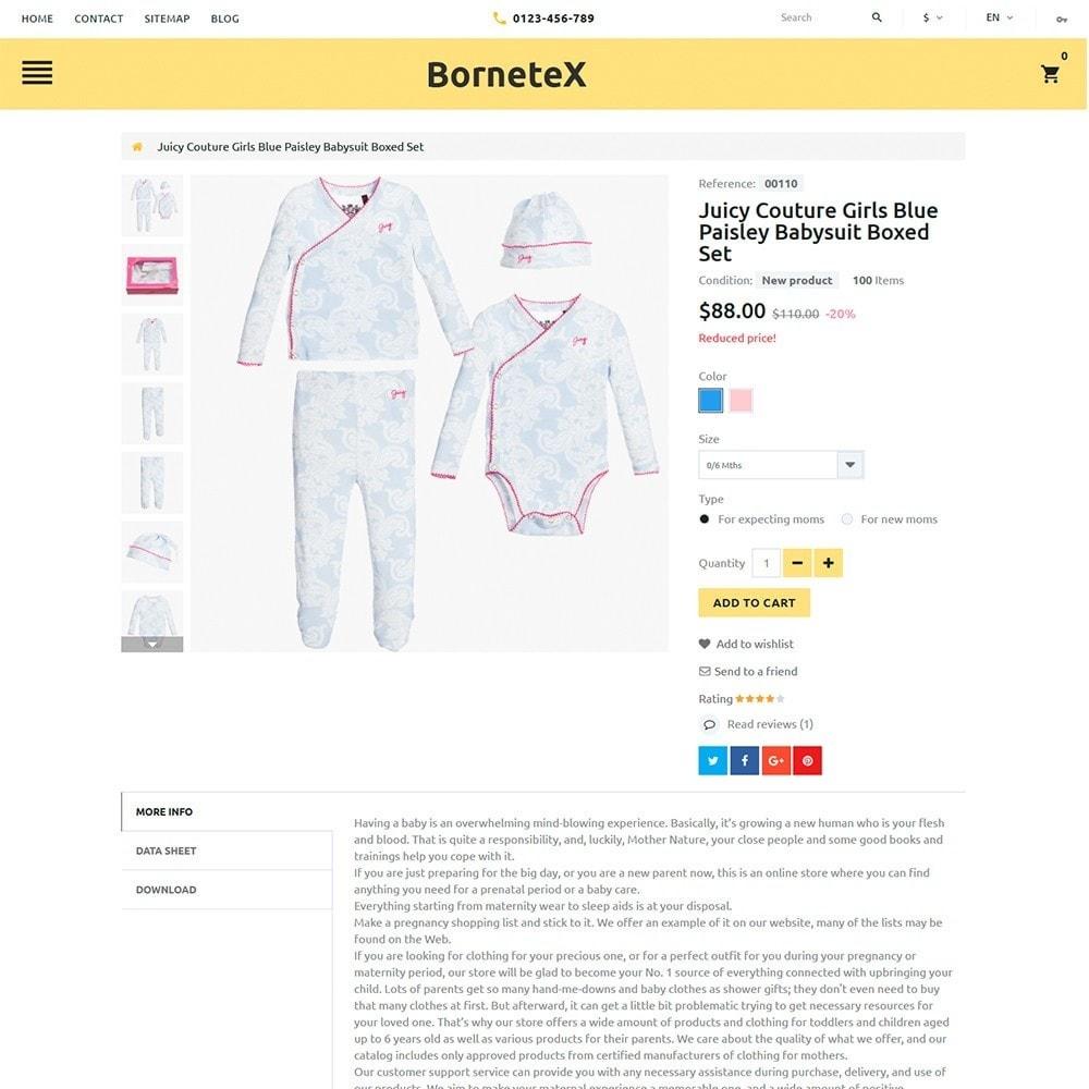 theme - Zabawki & Artykuły dziecięce - BorneteX - Maternity Store - 4