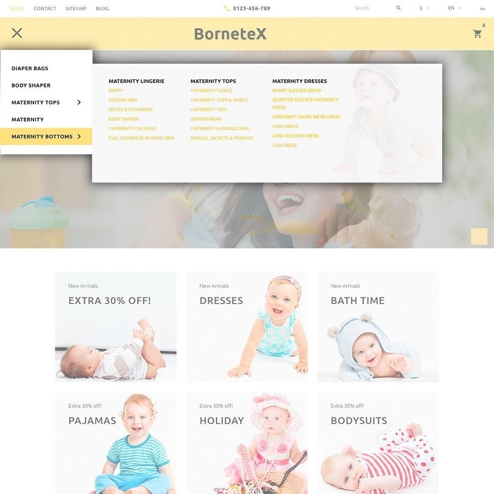 theme - Enfants & Jouets - BorneteX - articles de maternité thème PrestaShop - 3