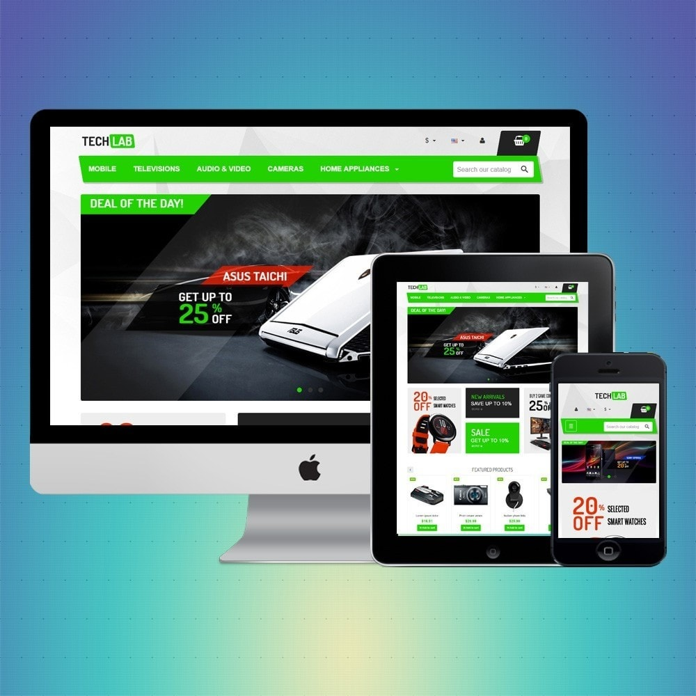 theme - Elektronika & High Tech - VP_Techlab Store - 1