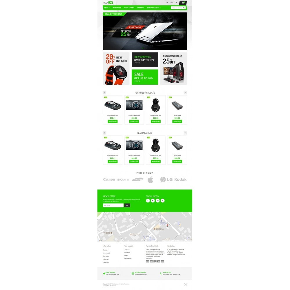 theme - Elektronika & High Tech - VP_Techlab Store - 2