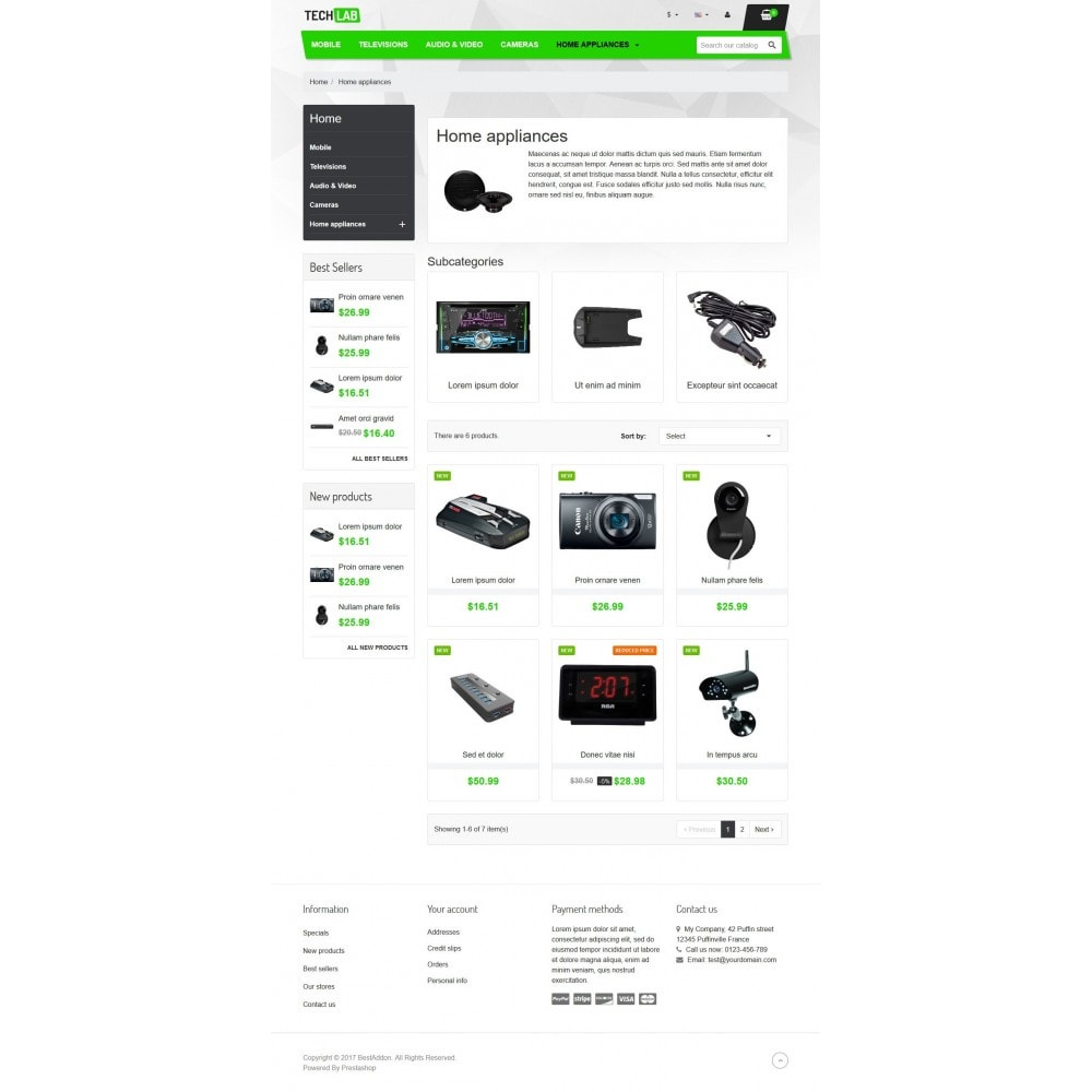 theme - Elektronika & High Tech - VP_Techlab Store - 3