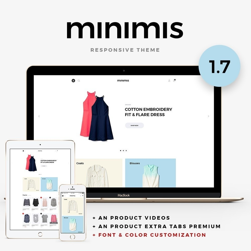 theme - Moda & Calzature - Minimis Fashion Store - 1