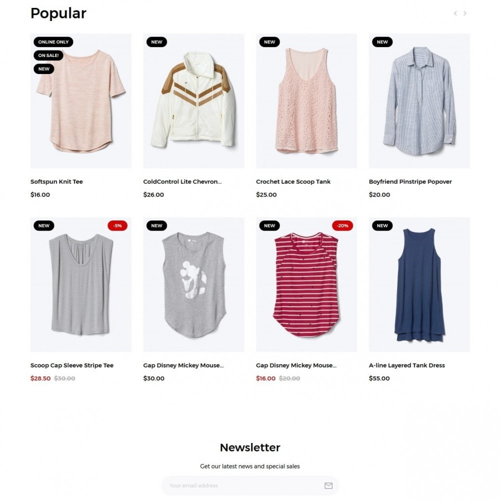theme - Moda & Calzature - Minimis Fashion Store - 3
