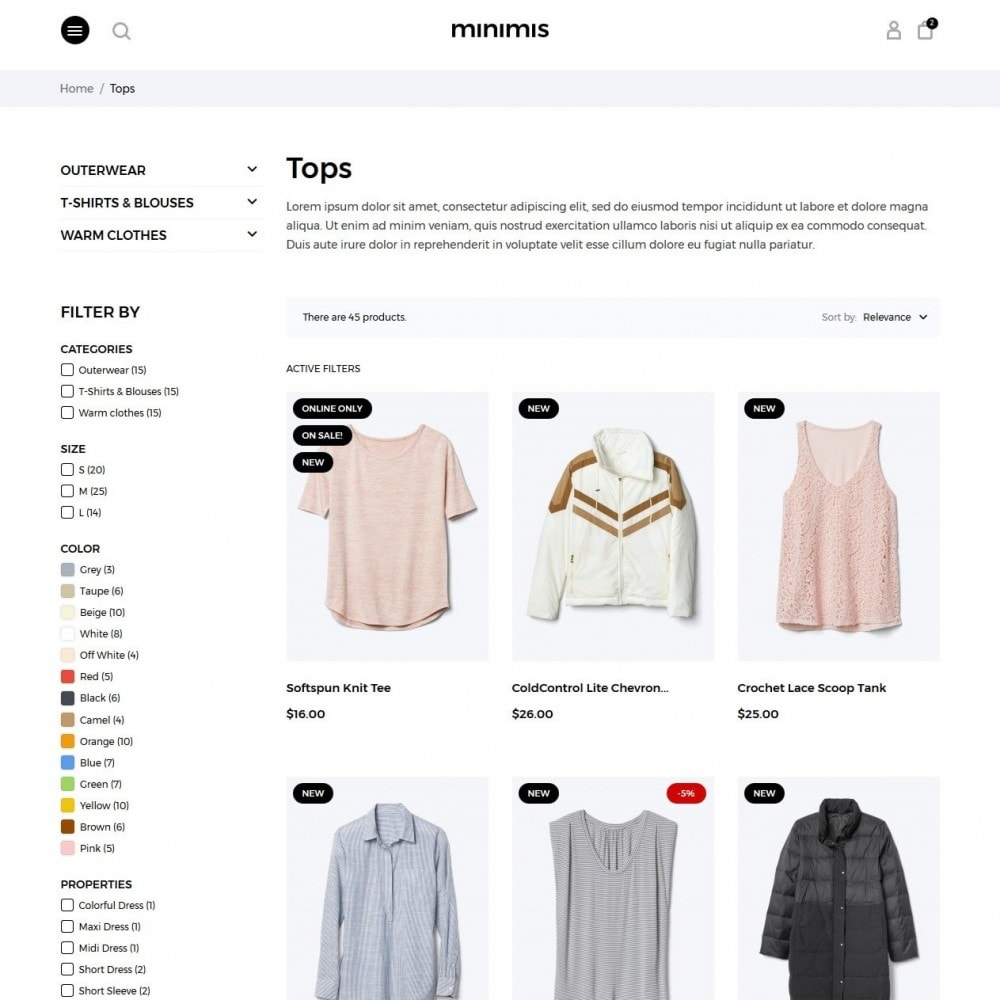 theme - Fashion & Shoes - Minimis Fashion Store - 5