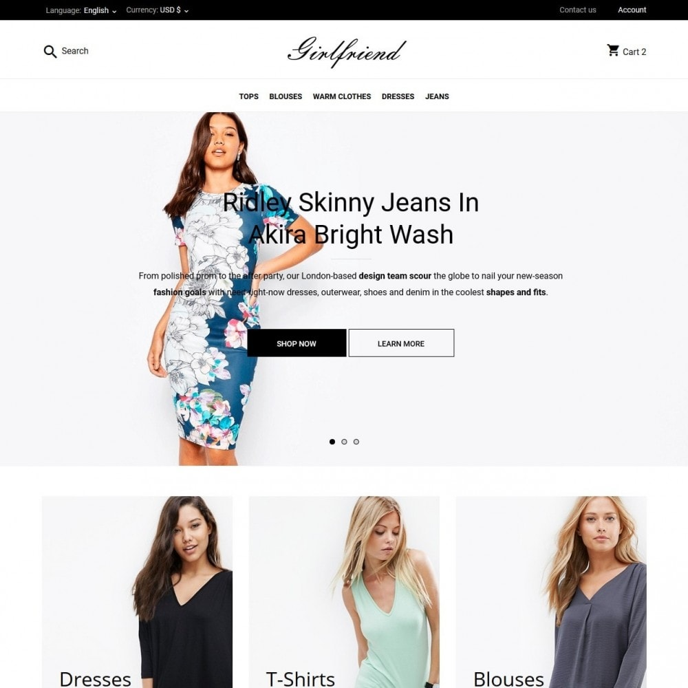 theme - Moda & Calzature - Girlfriend Fashion Store - 2