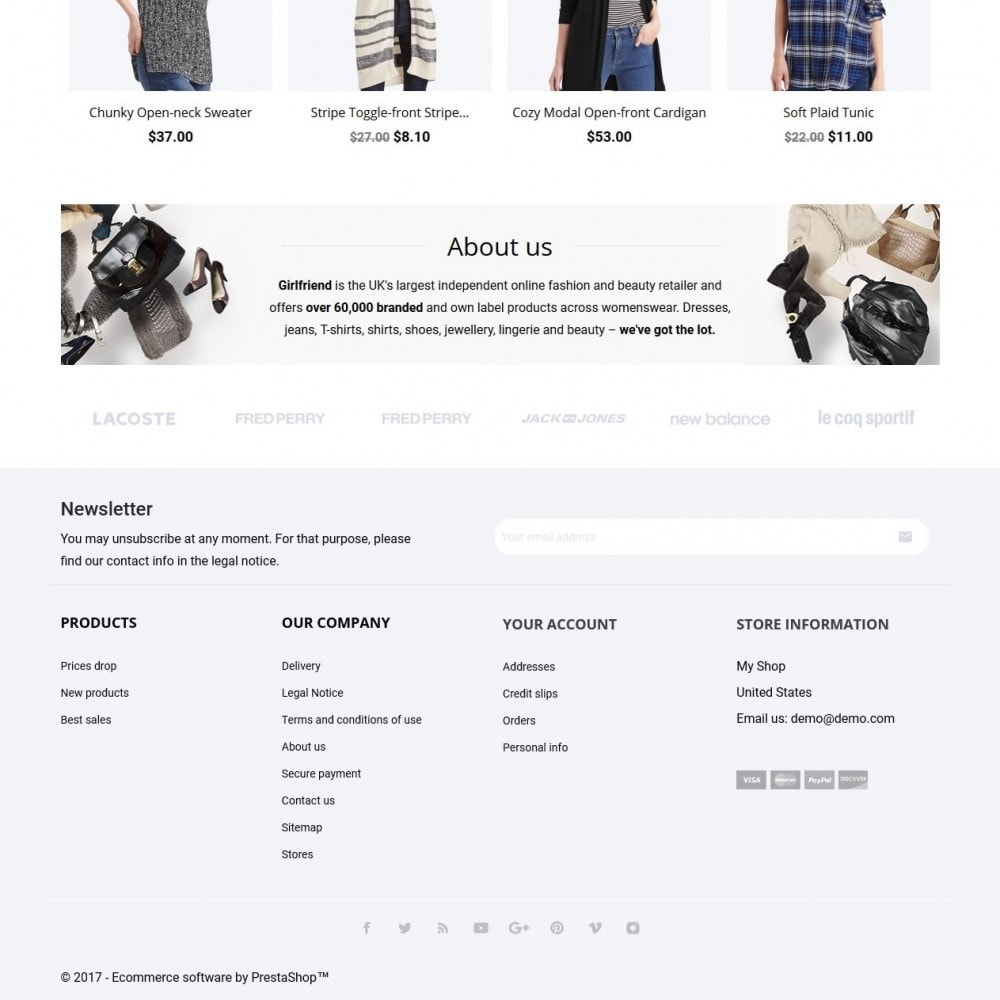 theme - Mode & Schoenen - Girlfriend Fashion Store - 4