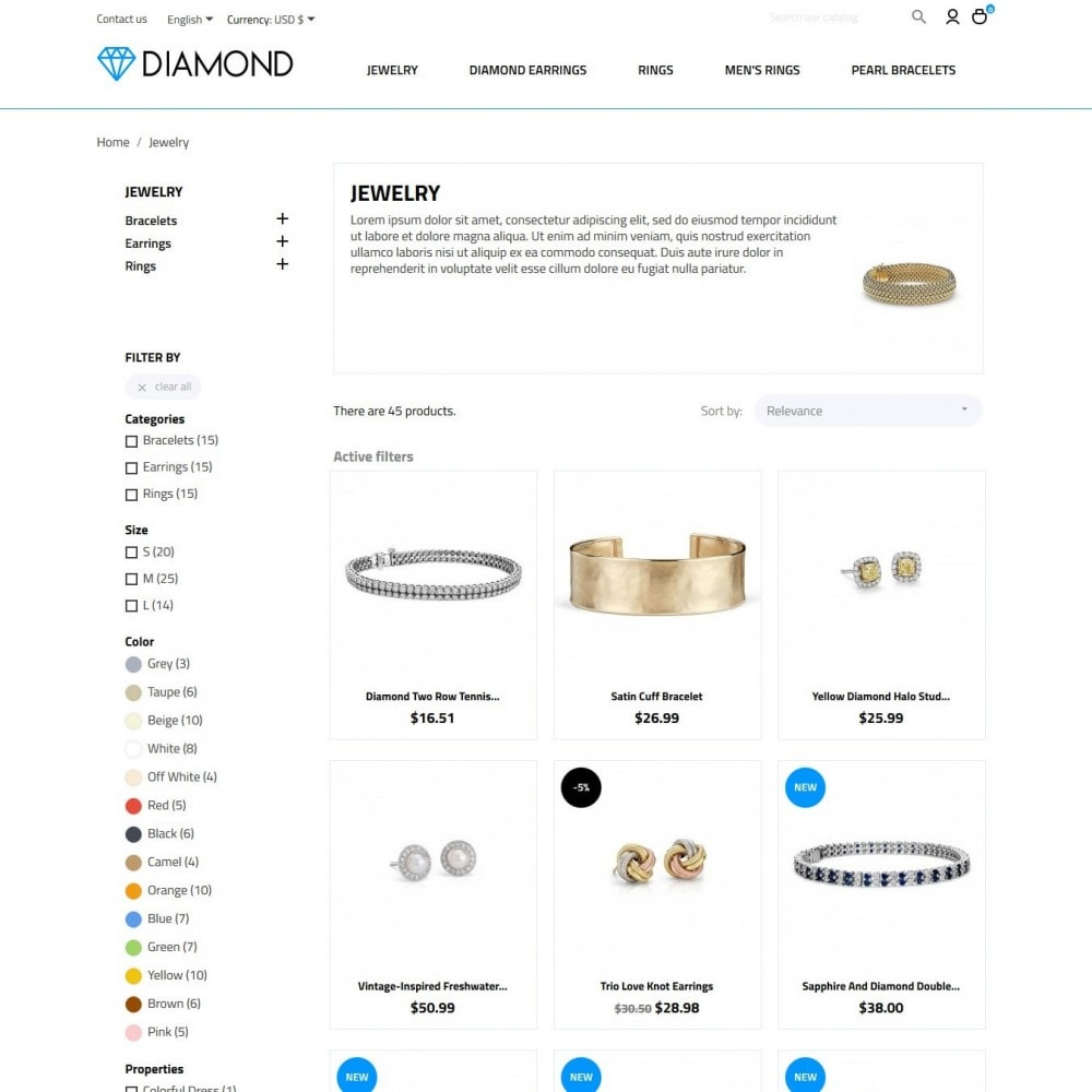 theme - Jewelry & Accessories - Diamond - 5