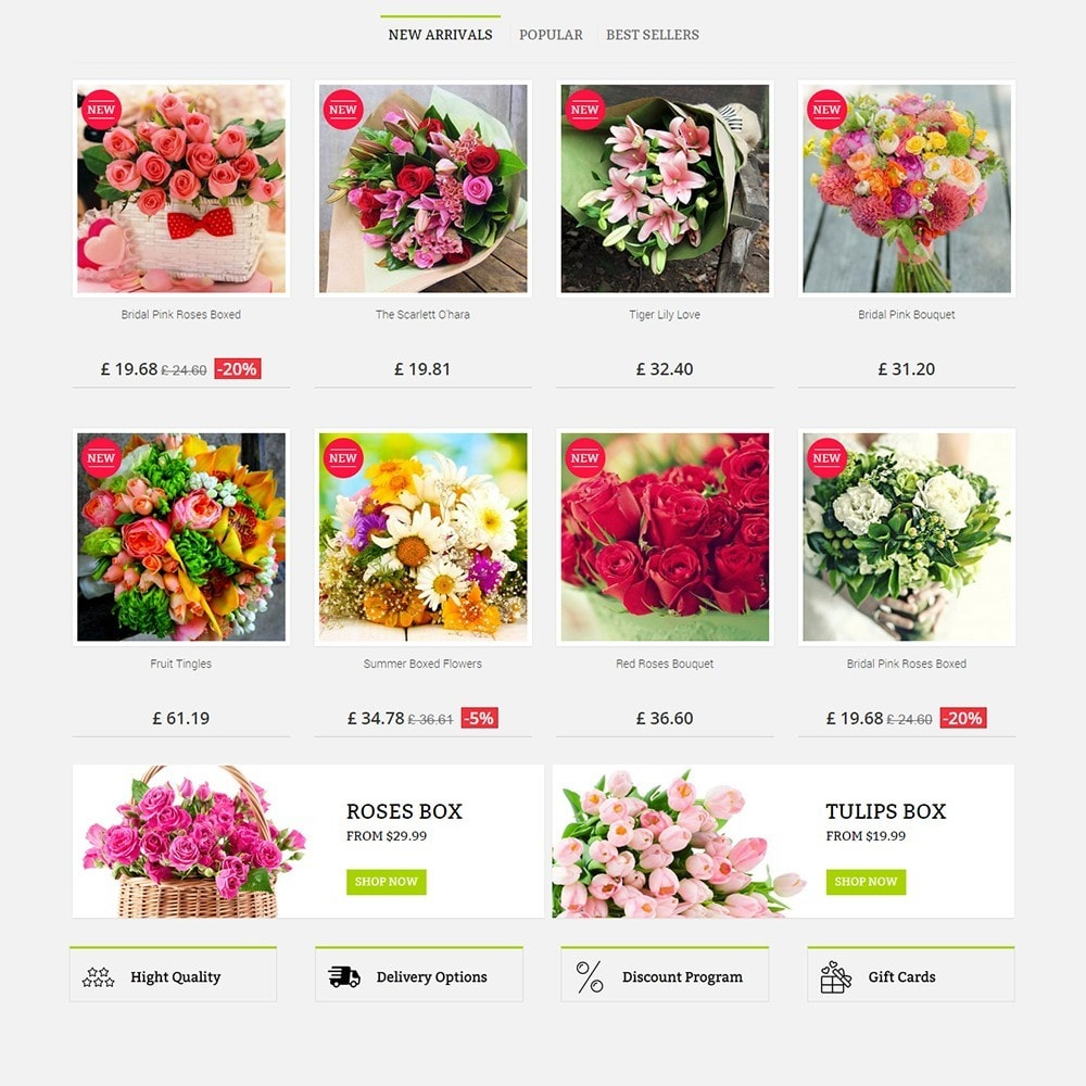 theme - Cadeaus, Bloemen & Gelegenheden - FLOWER SHOP - 4