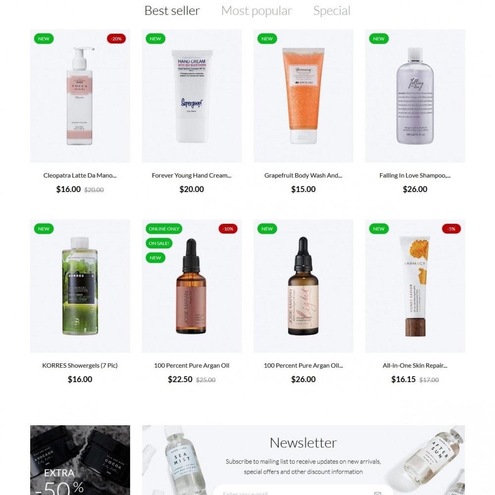theme - Santé & Beauté - Malachite Cosmetics - 3