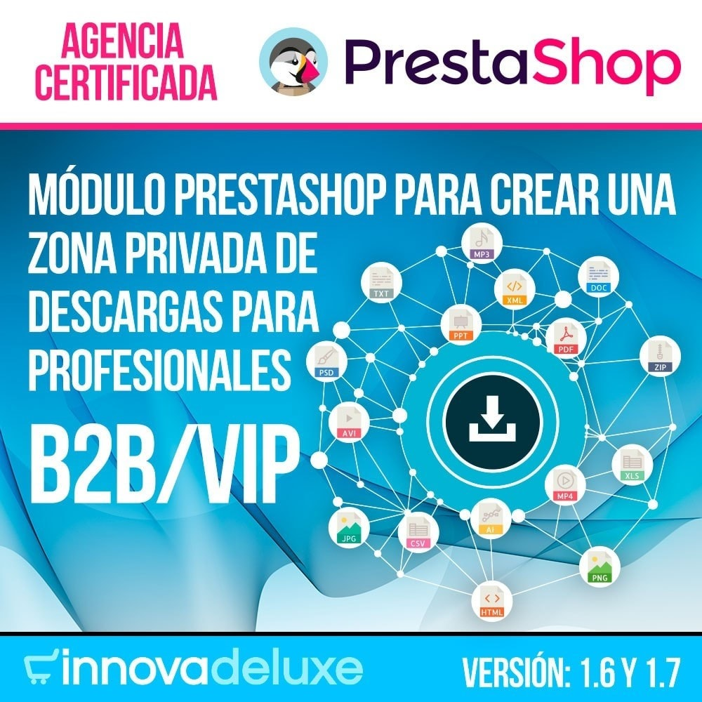 module - Productos Digitales (de descarga) - Zona privada de descargas para clientes autorizados - 1