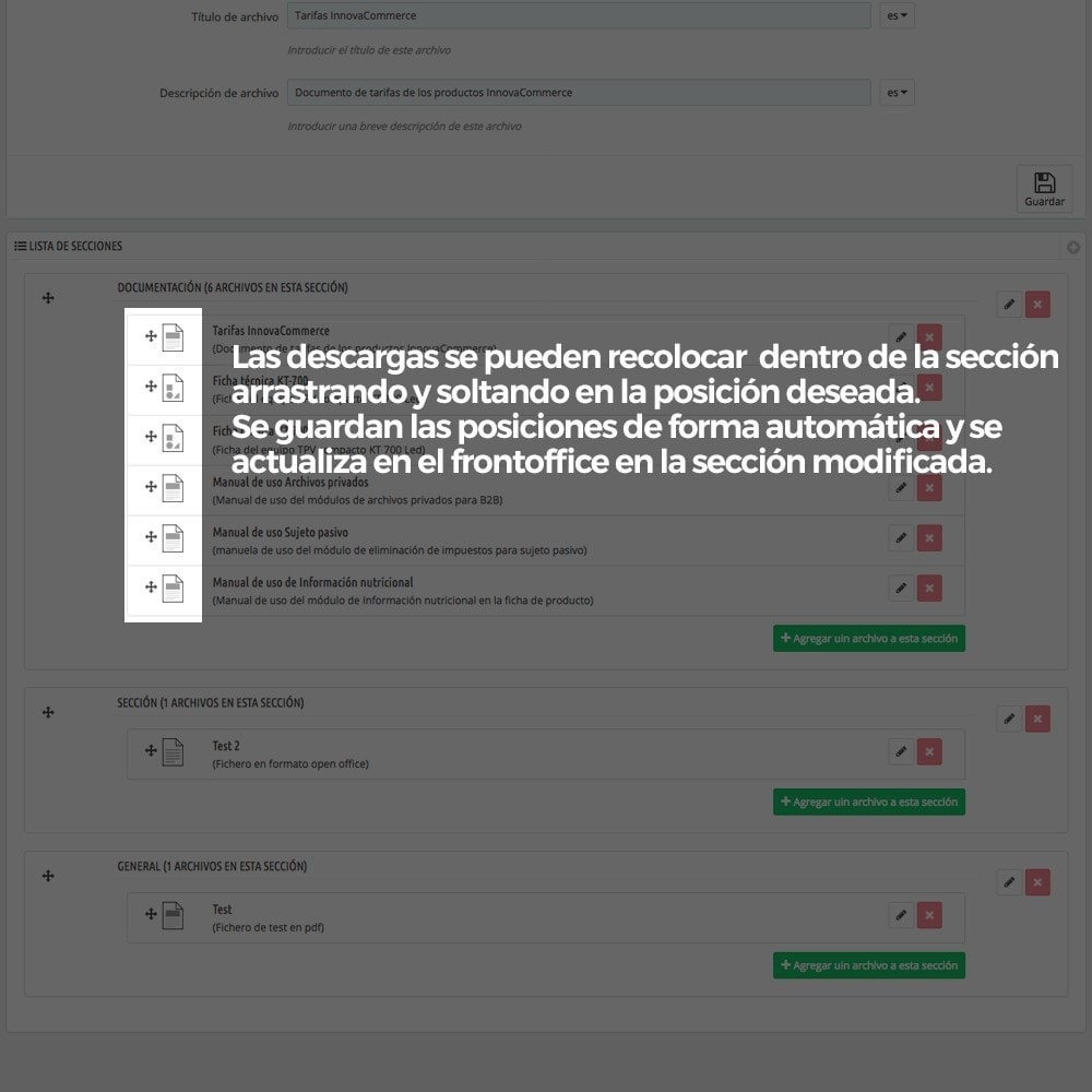 module - Productos Digitales (de descarga) - Zona privada de descargas para clientes autorizados - 8