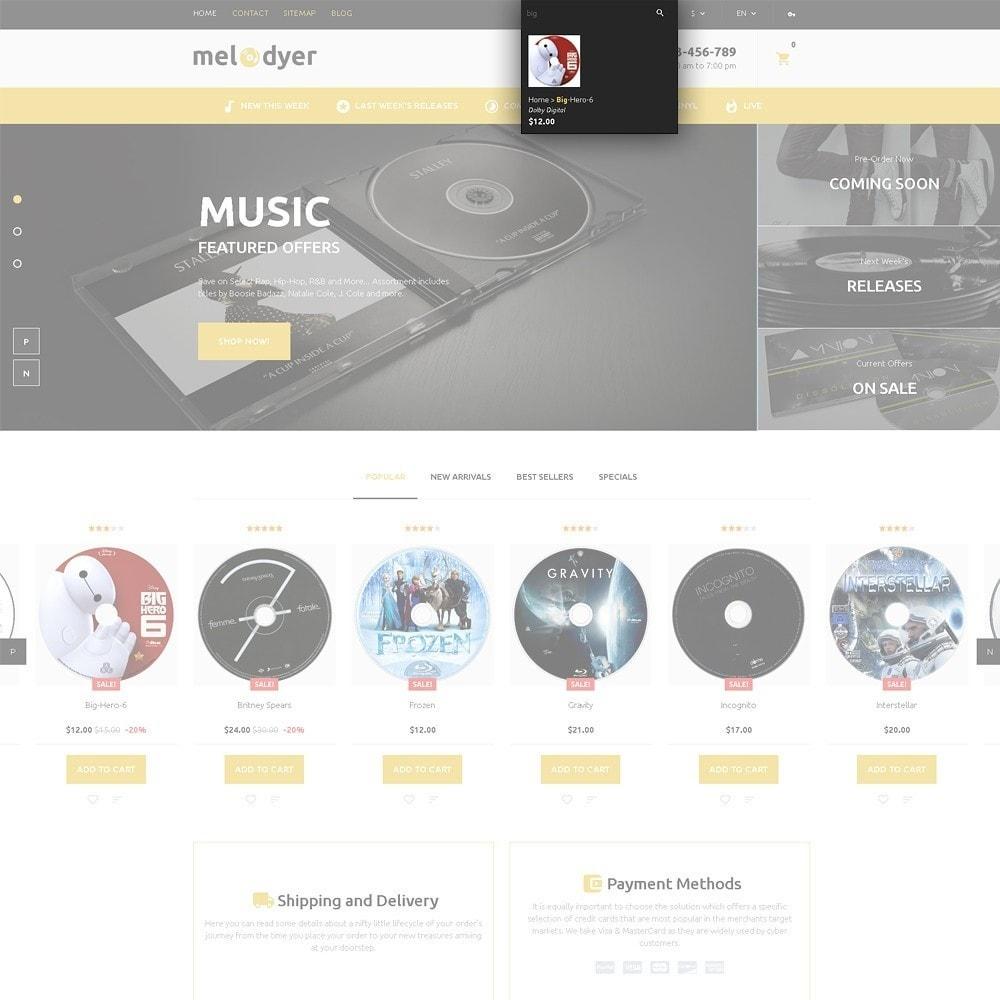 theme - Electronique & High Tech - Melodyer - Magasin d'audio adaptatif - 5