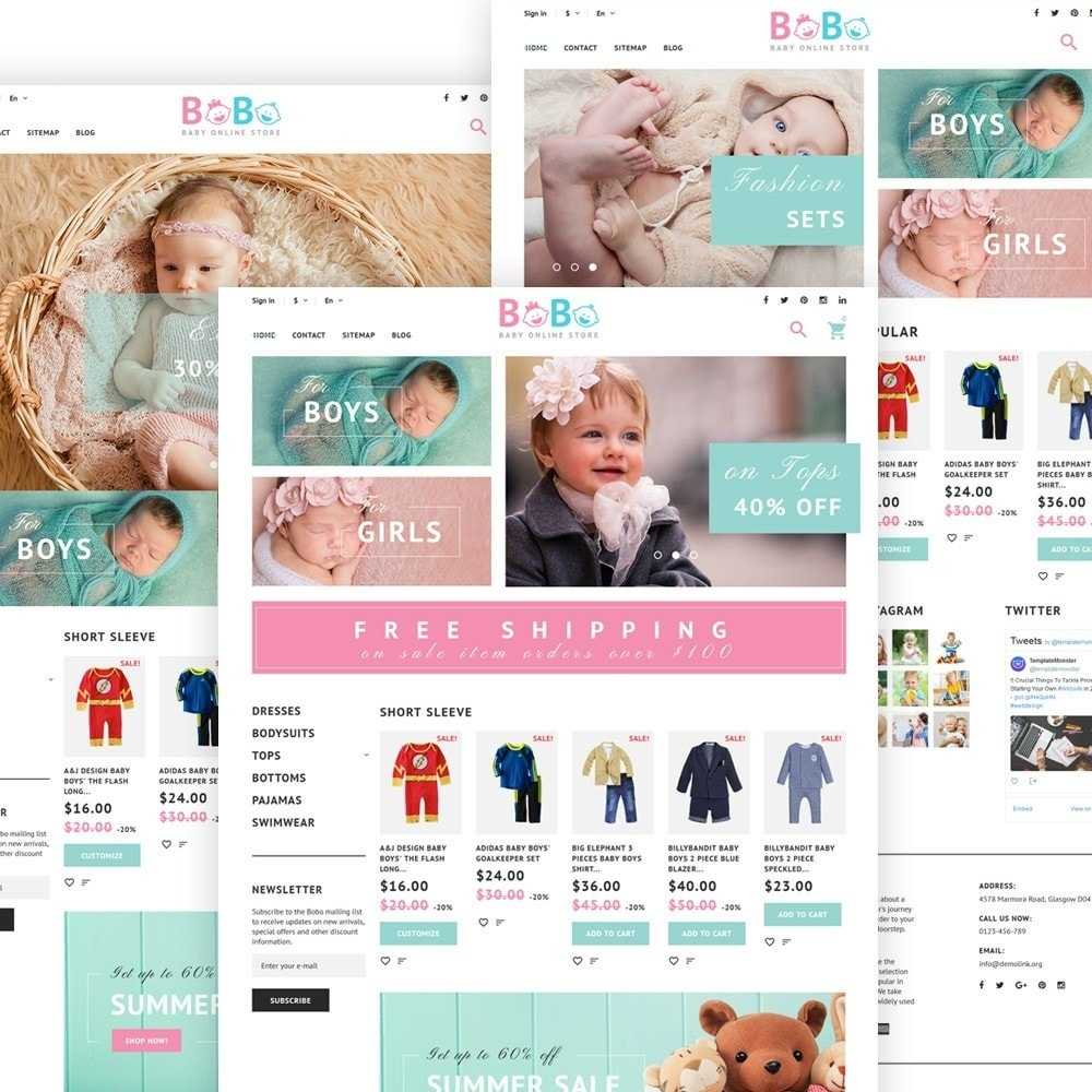 theme - Niños y Juguetes - BoBo - Sitio de Tienda de Productos para Bebés - 3