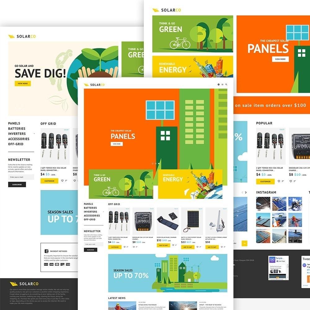 theme - Hogar y Jardín - SolarCo -  Sitio de Energía solar - 3