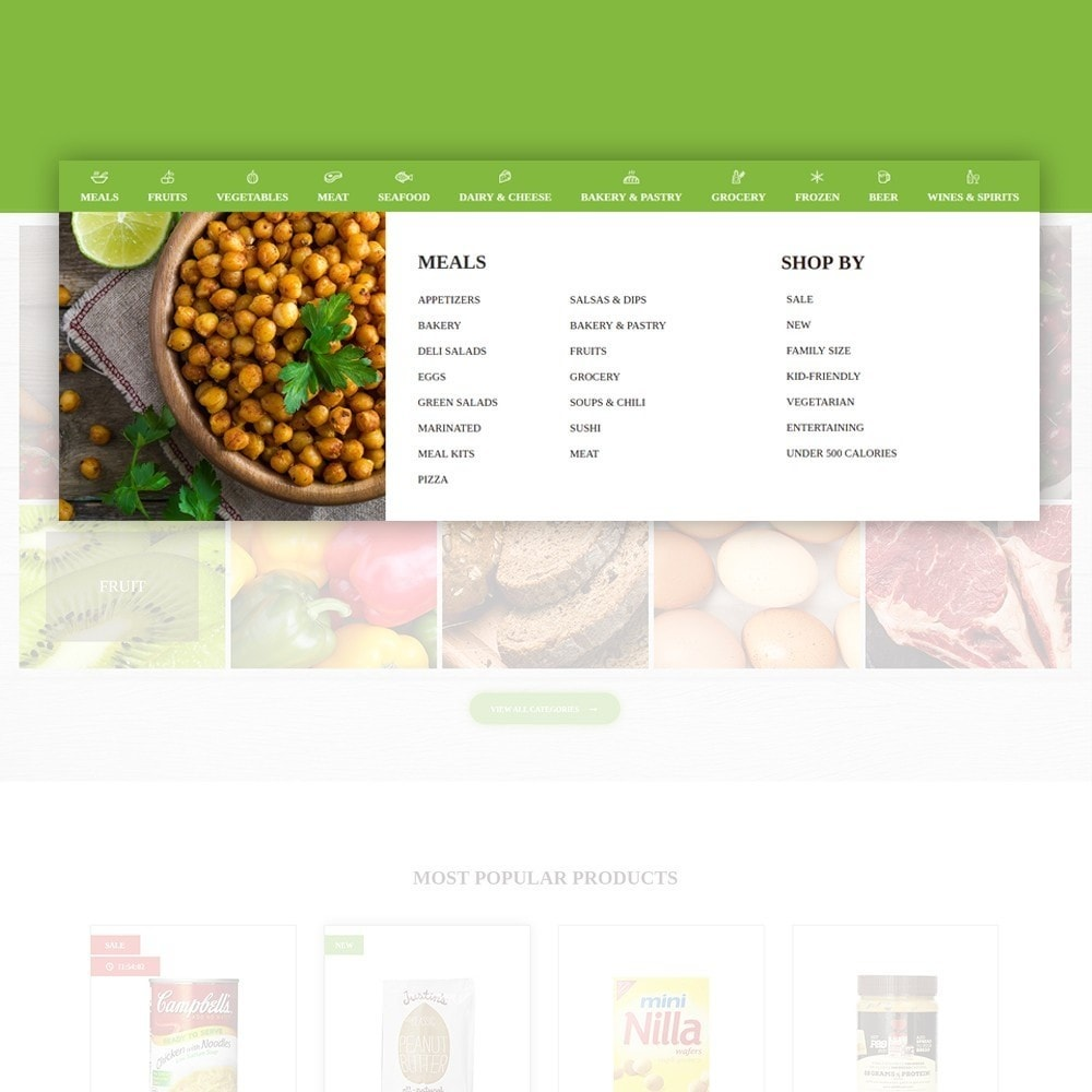 theme - Lebensmittel & Restaurants - FoodFate - Food Store - 4